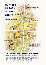 """Paseo de Jane 2017 """"Chamberí distrito educativo""""  http://laoropendolasostenible.blogspot.com/2017/04/paseo-de-jane-2017-chamberi-distrito.html"""