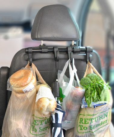 Look at this #zulilyfind! Car Headrest Multi-Hanger - Set of Two by MAXSA Innovations #zulilyfinds
