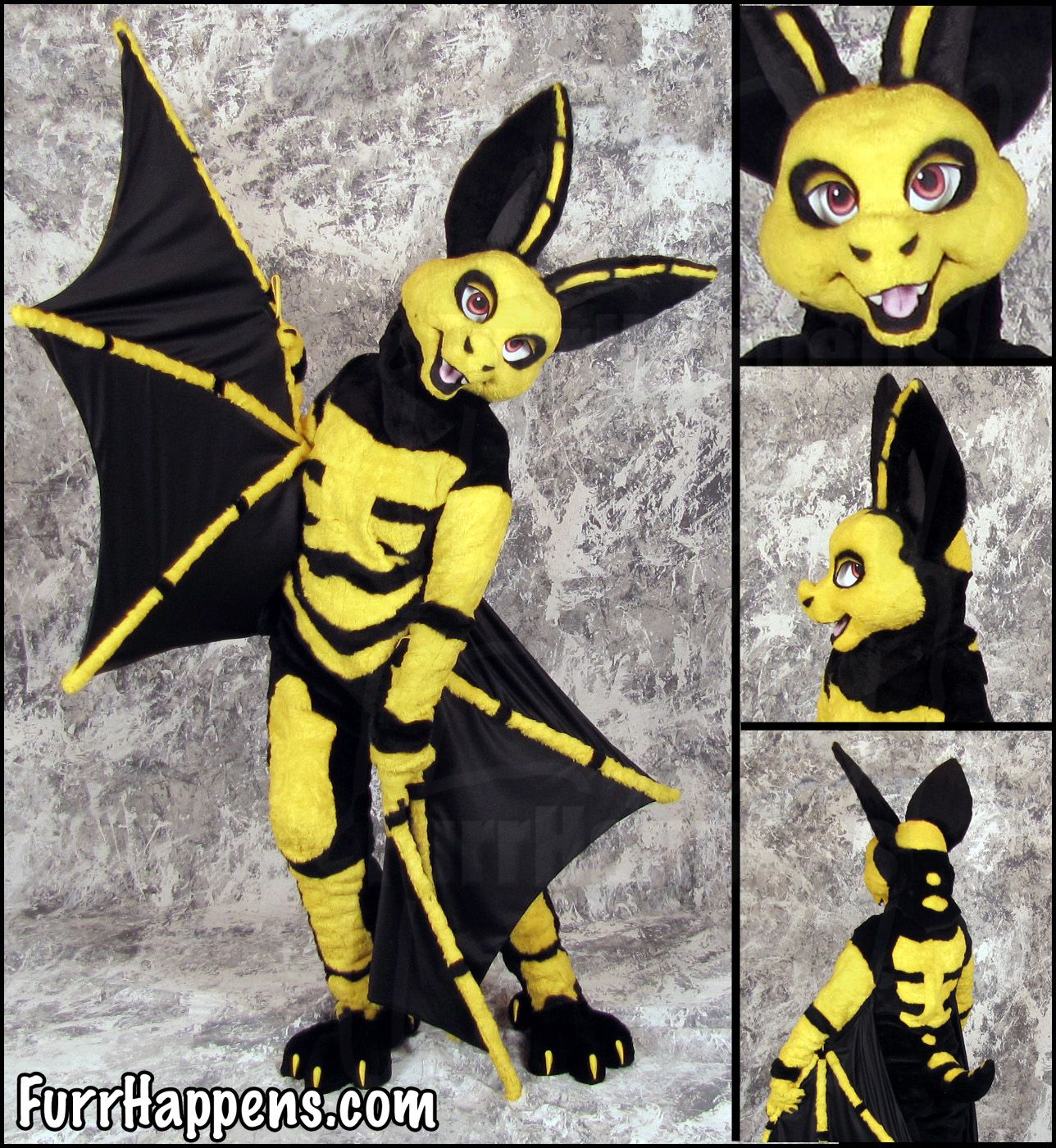 Bat Fursuit Orin Weasyl Anthro Furry Art