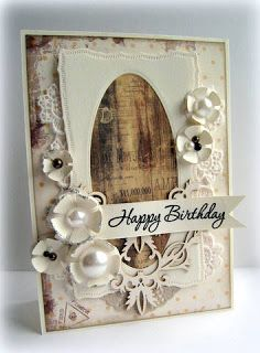 Riddersholm Design: Happy birthday card