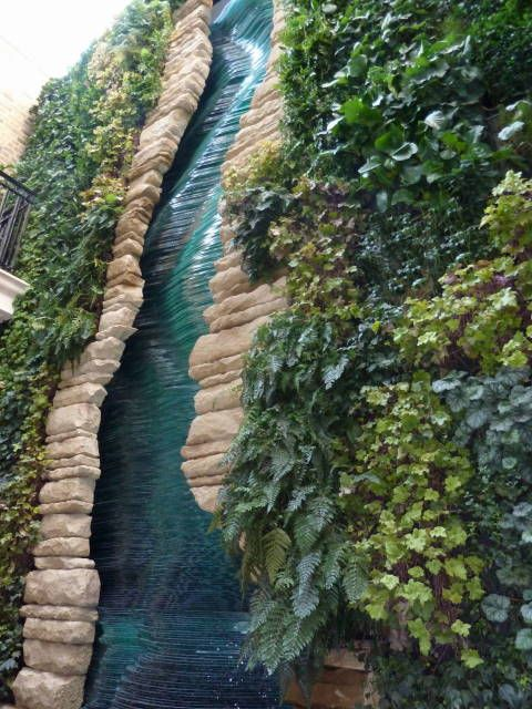 Yes Green Infrastructure: Water Feature Green Wall - Google Search