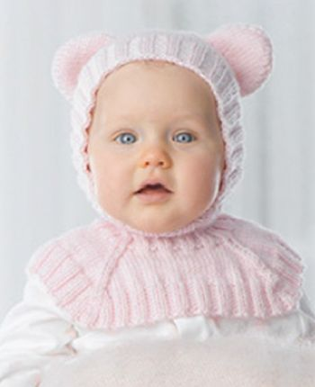 Teddy Bear Balaclava To Knit Keep Your Little One Toasty Warm With