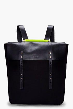 PAUL SMITH Neon Handle Mainline Backpack Borse Alla Moda 52c85d51817