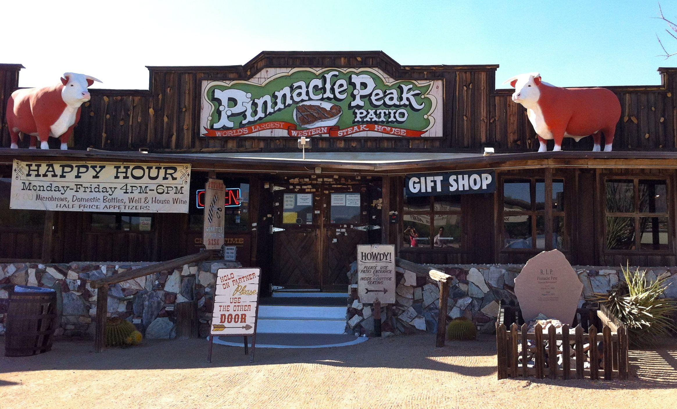 Delightful Pinnacle Peak Patio Steakhouse In Scottsdale, AZ