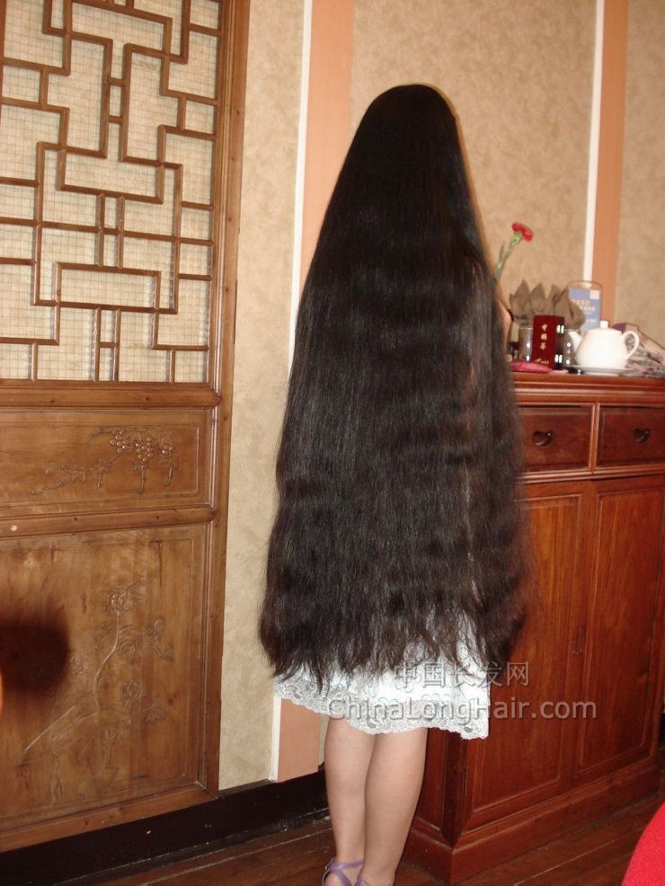 Very Long Thick Hair  Long Haired Women Hall Of Fame -6564