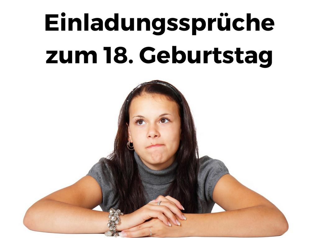 Awesome 18 Geburtstag Einladung Spruche #10: Gute #Einladungssprüche Zum 18. Geburtstag, Lustig, Frech Oder Cool #18ter #