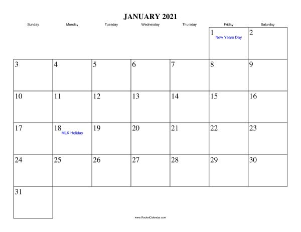 Free Printable Calendar For January 2021 View Online Or Print In Pdf Format In 2020 Free Printable Calendar Calendar Printables Printable Calendar