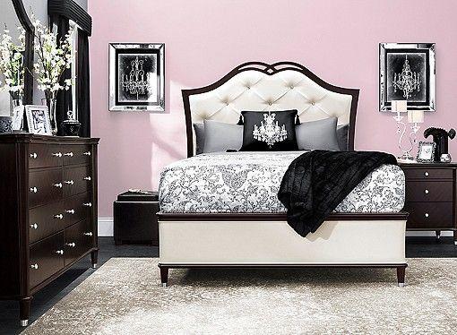 Valentina 4 Pc Queen Bedroom Set Bedroom Sets Queen Discount Bedroom Furniture Bedroom Set