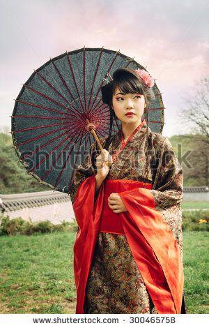 One beautiful of asian women traditional girl