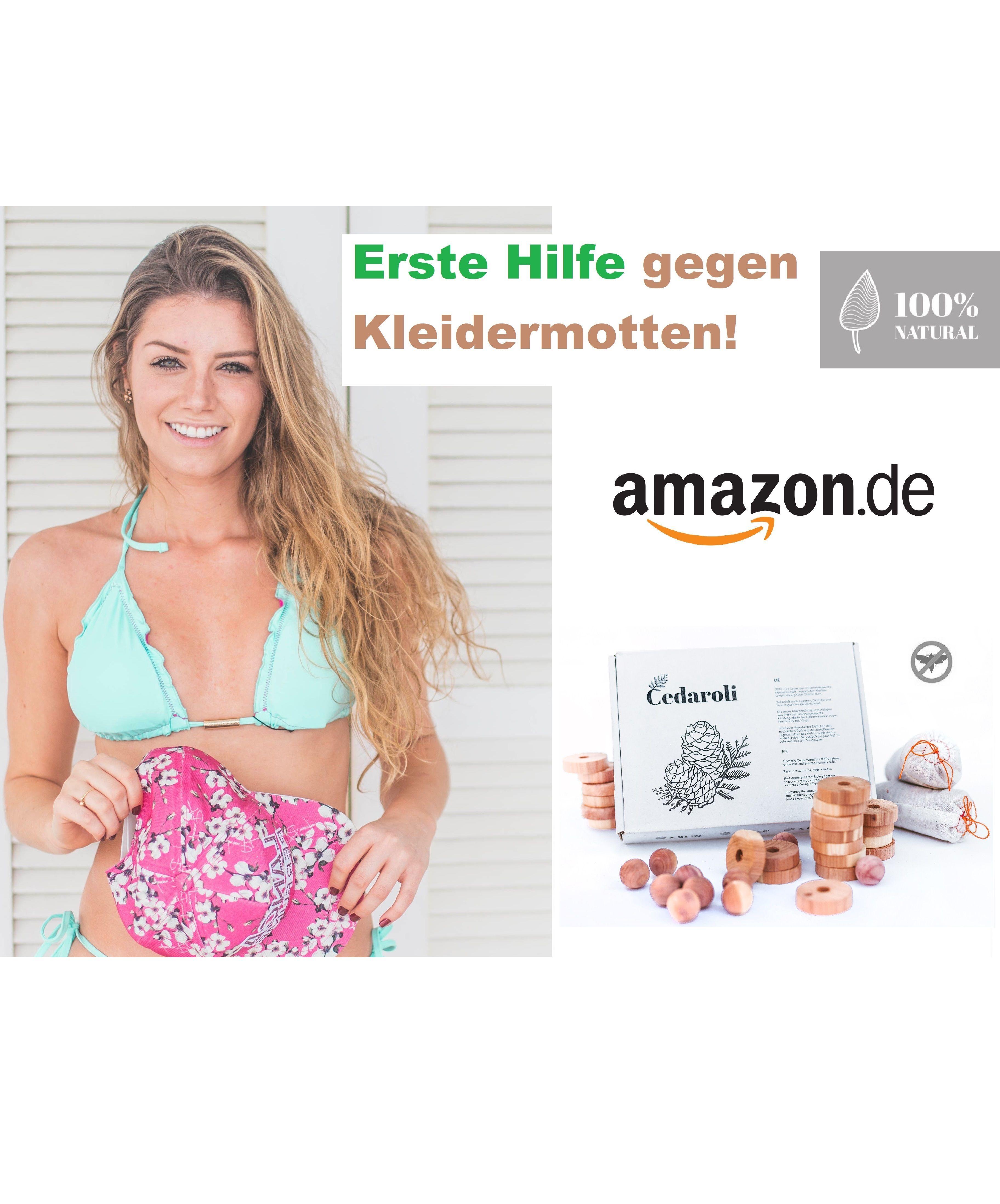 Mottenschutz Kleiderschrank Cedar Zedernholz Motten Kleidung Kleidermotten Mottenschutz
