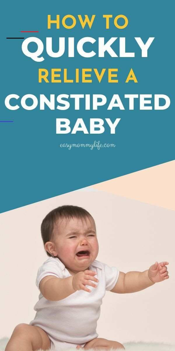 what will help my baby with constipation
