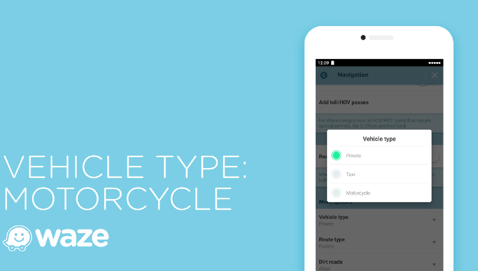 Waze app updates with motorcycle features Motorcycle
