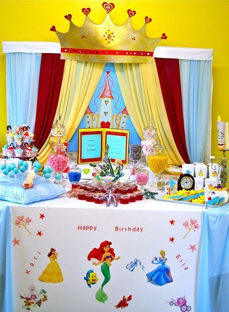 Disney Princess party ideas  sc 1 st  Pinterest & Disney Princess Birthday Party Ideas | Disney princess birthday ...
