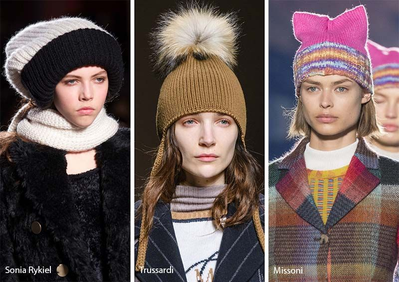 Fall  Winter 2017-2018 Hat Trends  Knit Hats   Beanies c31ca735d4a