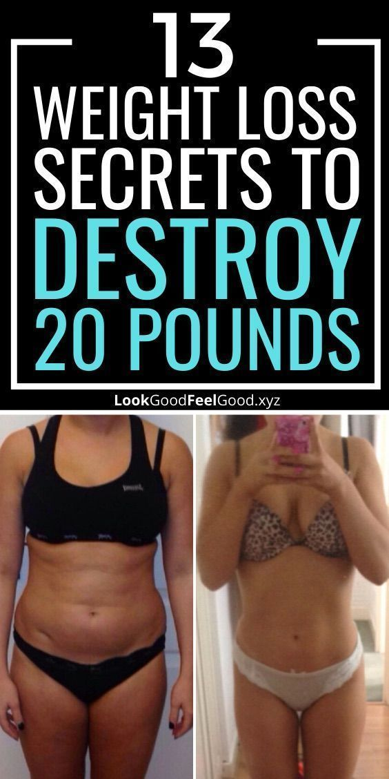 13 Weight Loss Secrets To Lose 20 Pounds For Good | lose weight in a week lazy | lose weight in a we...