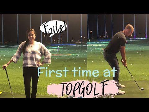 TopGolf Gilbert AZ, First Time Golfing! - YouTube