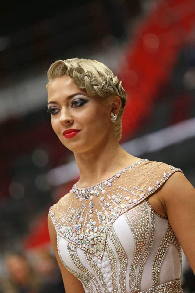 Standard Dancesport Hair