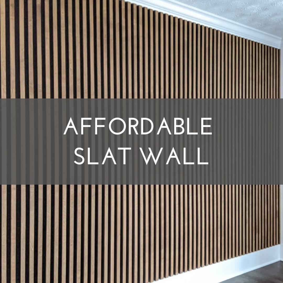 Affordable Slat Wall In 2020 Slat Wall Modern Wall Paneling Wood Slat Wall