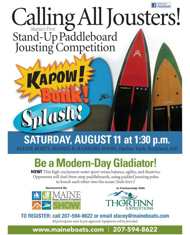 STAND-UP PADDLEBOARD JOUSTING 2012