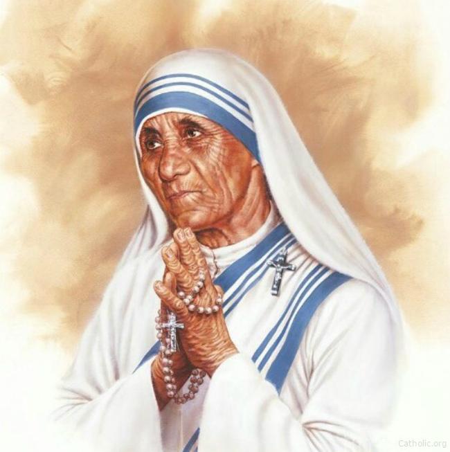 Pin by Socorro on Saints   Mother teresa, Mother art