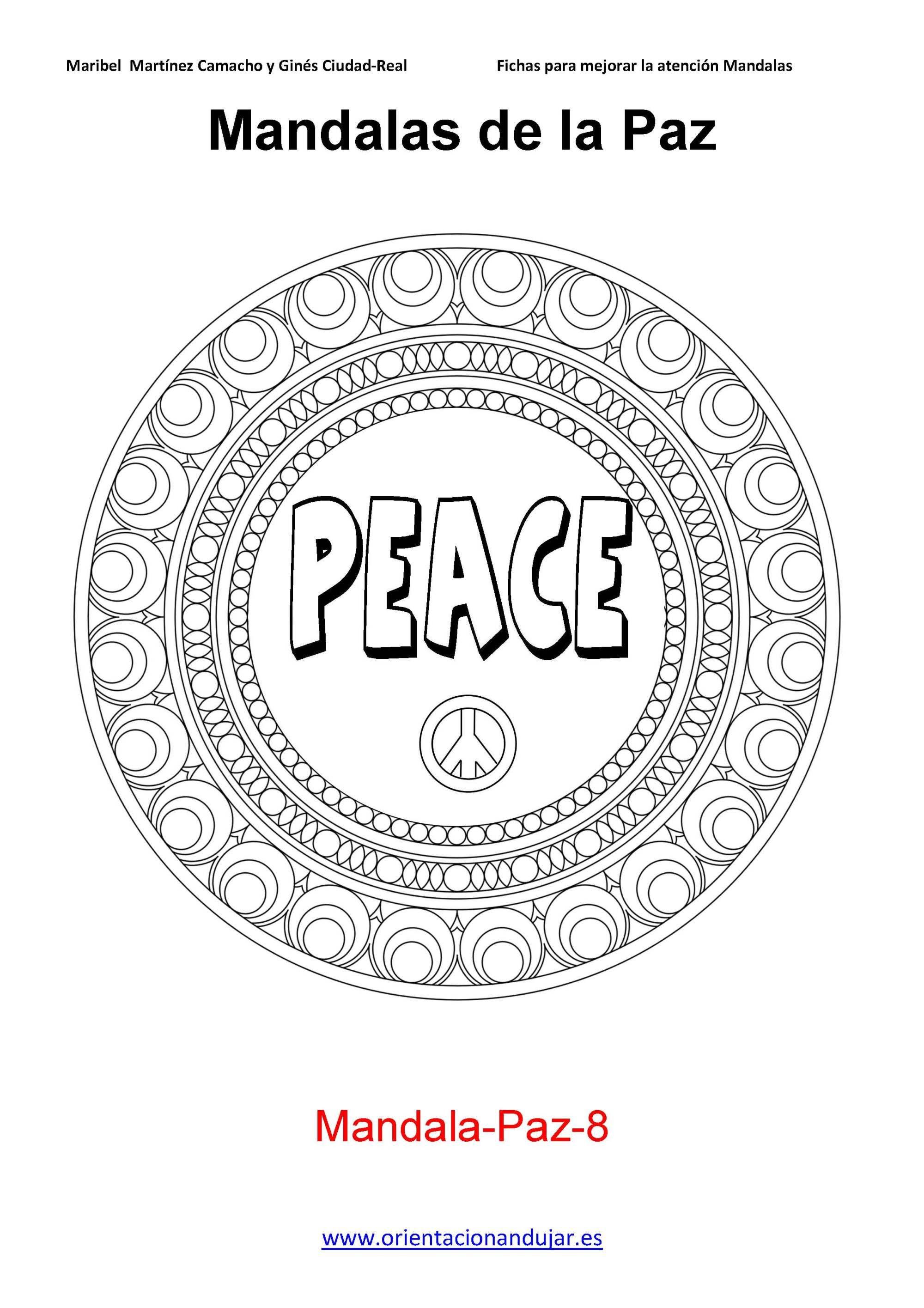 La palabra mandala viene del sánscrito y significa círculo. El ...