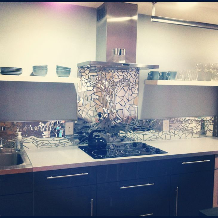 Backsplash Designer mirror mosaic kitchen backsplash | kitchen backsplash, ux/ui