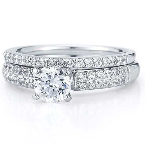 Stunning engagement ring wedding band by 1910 Rings Pinterest