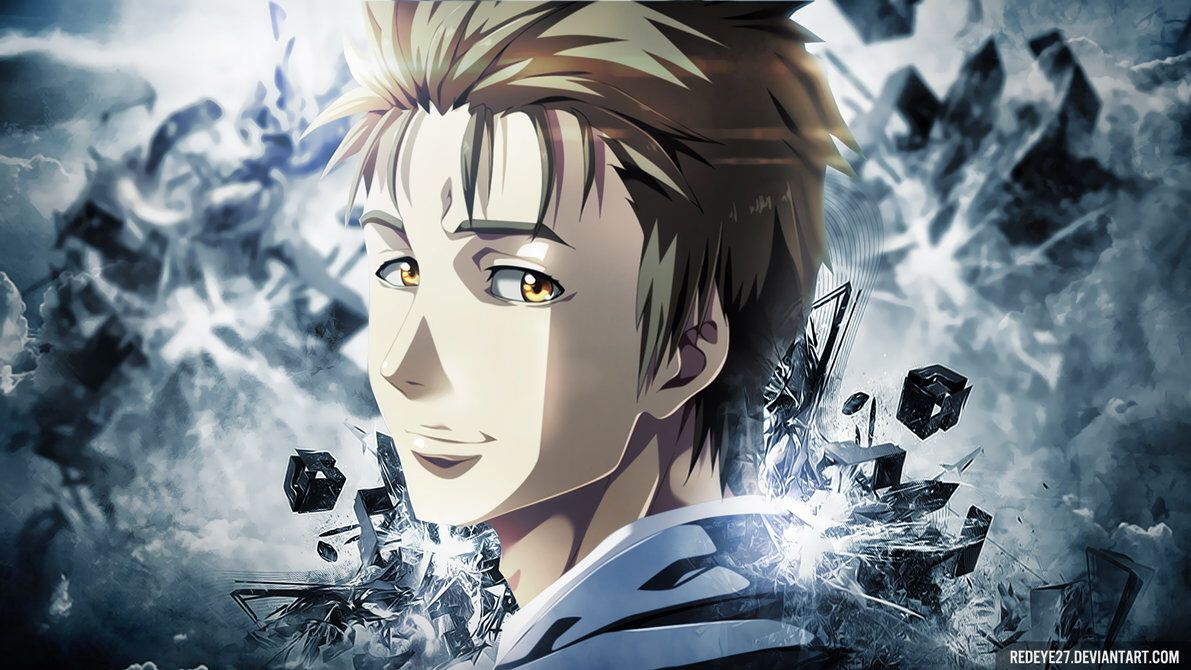 Shinichi Izumi fanart Anime