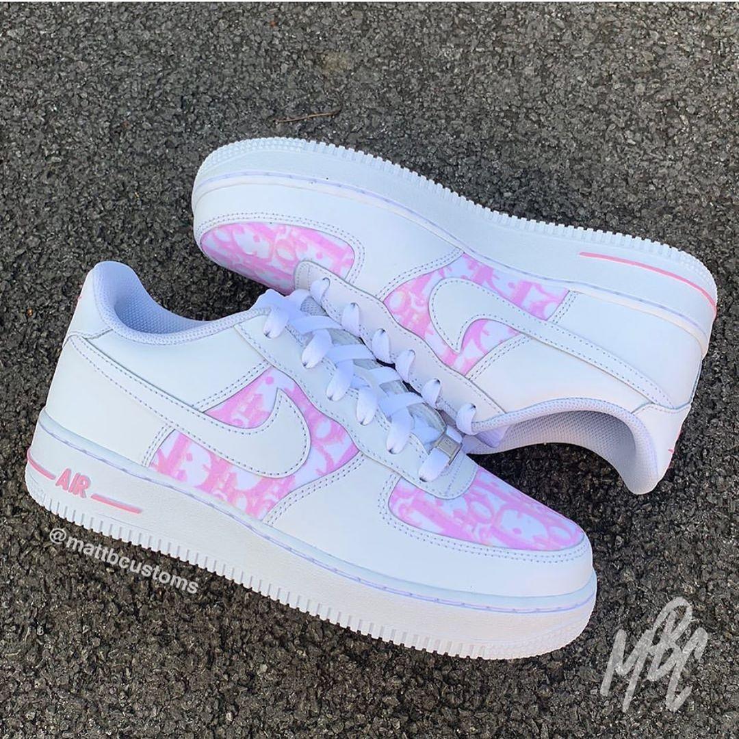 nike air force 1 camoscio rosa