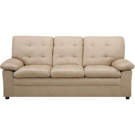 Buchannan Microfiber Sofa, Multiple Colors   Walmart.com