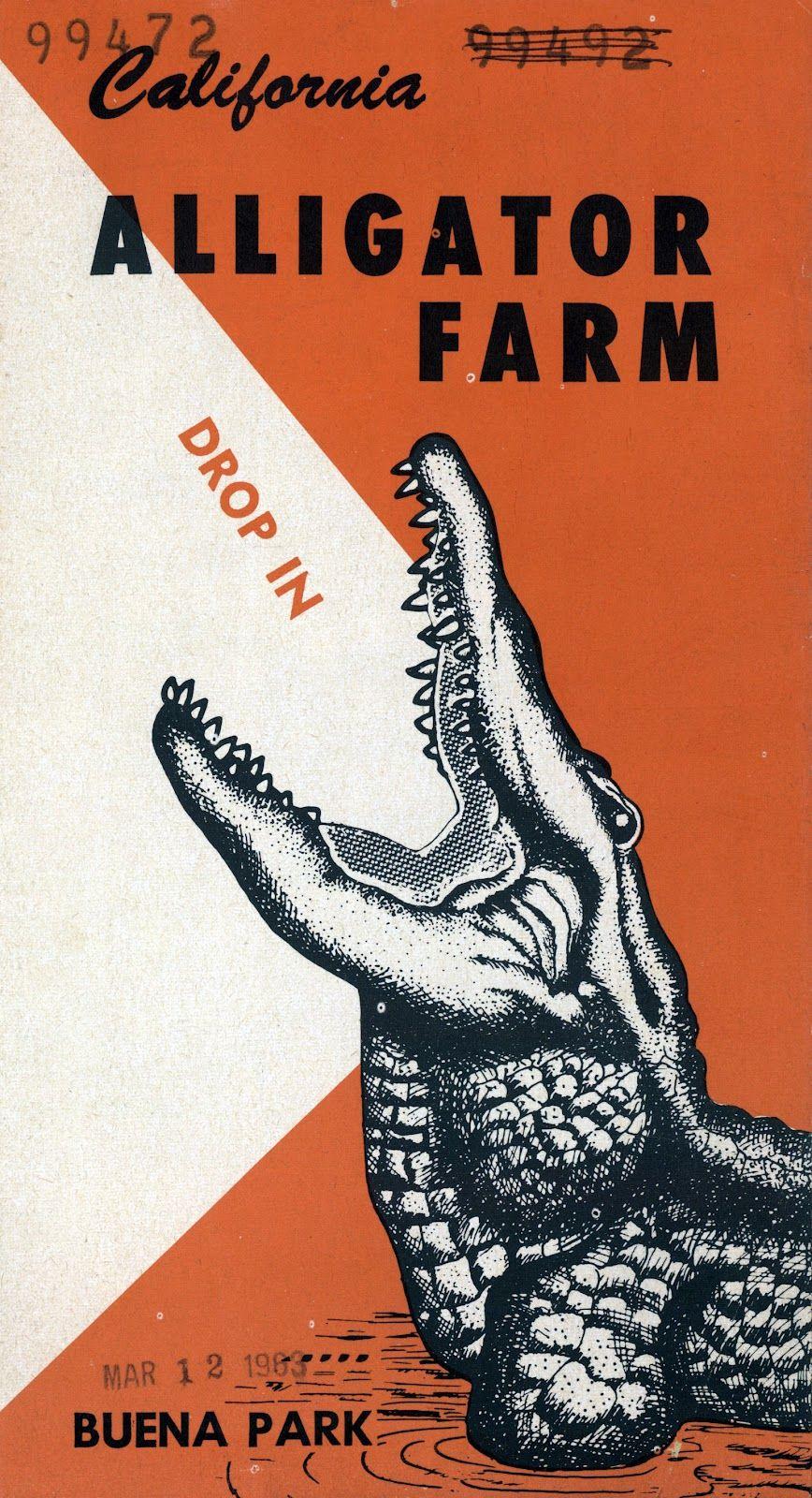 Alligator Farm Buena Park