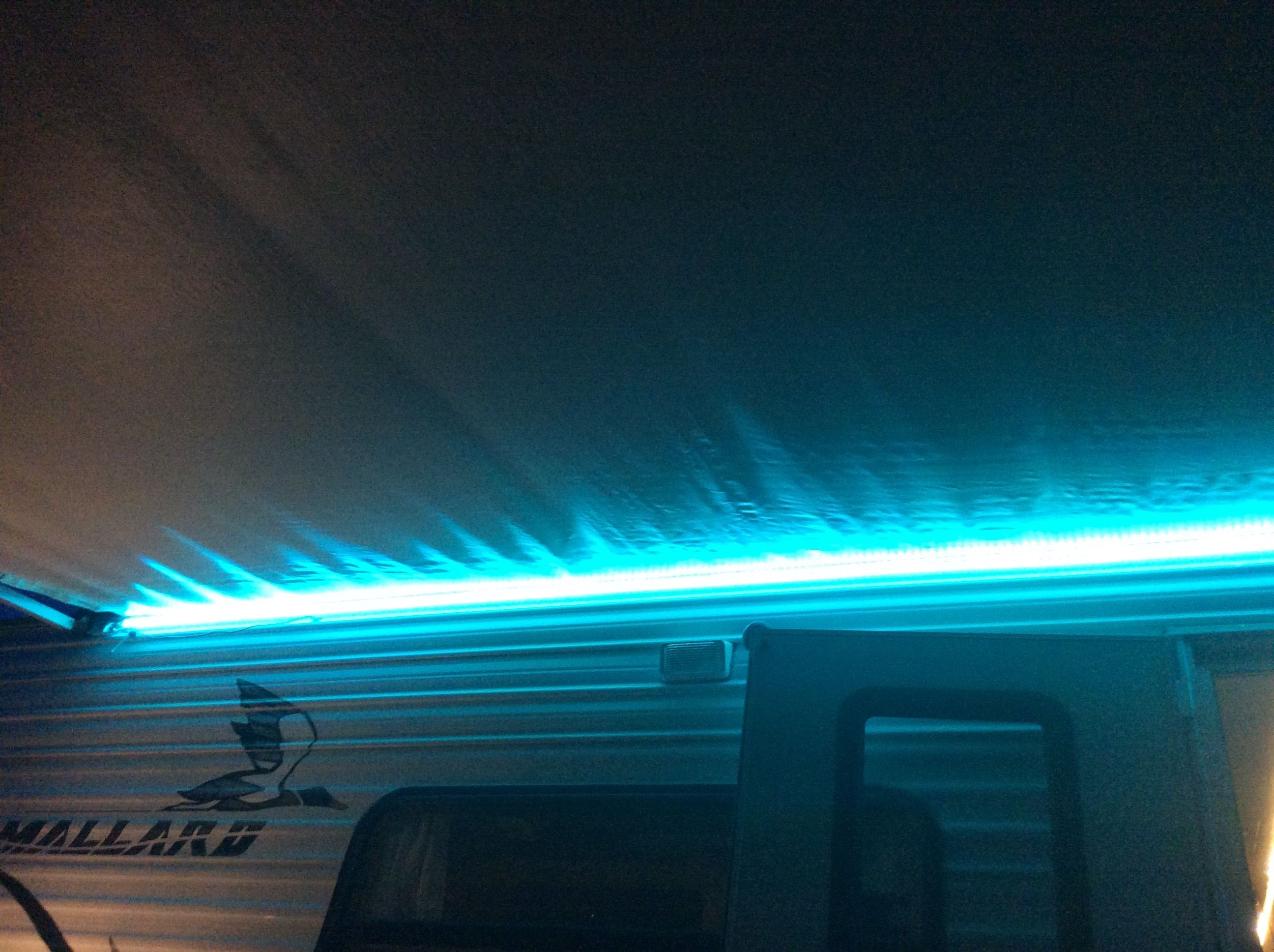 Led Light Tape Under The Awning Rv Homes Led Lights Led Light Strips
