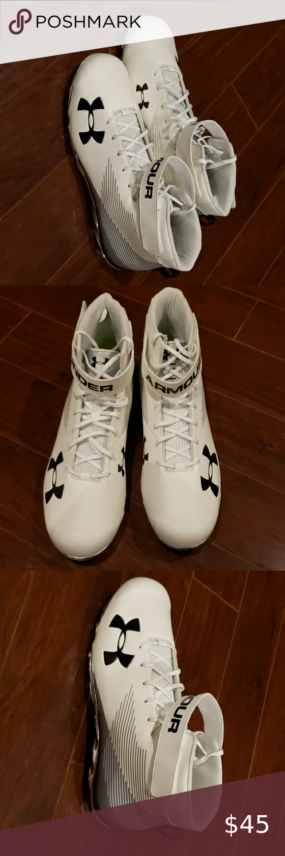 Under Armour Mens Spine Football cleats