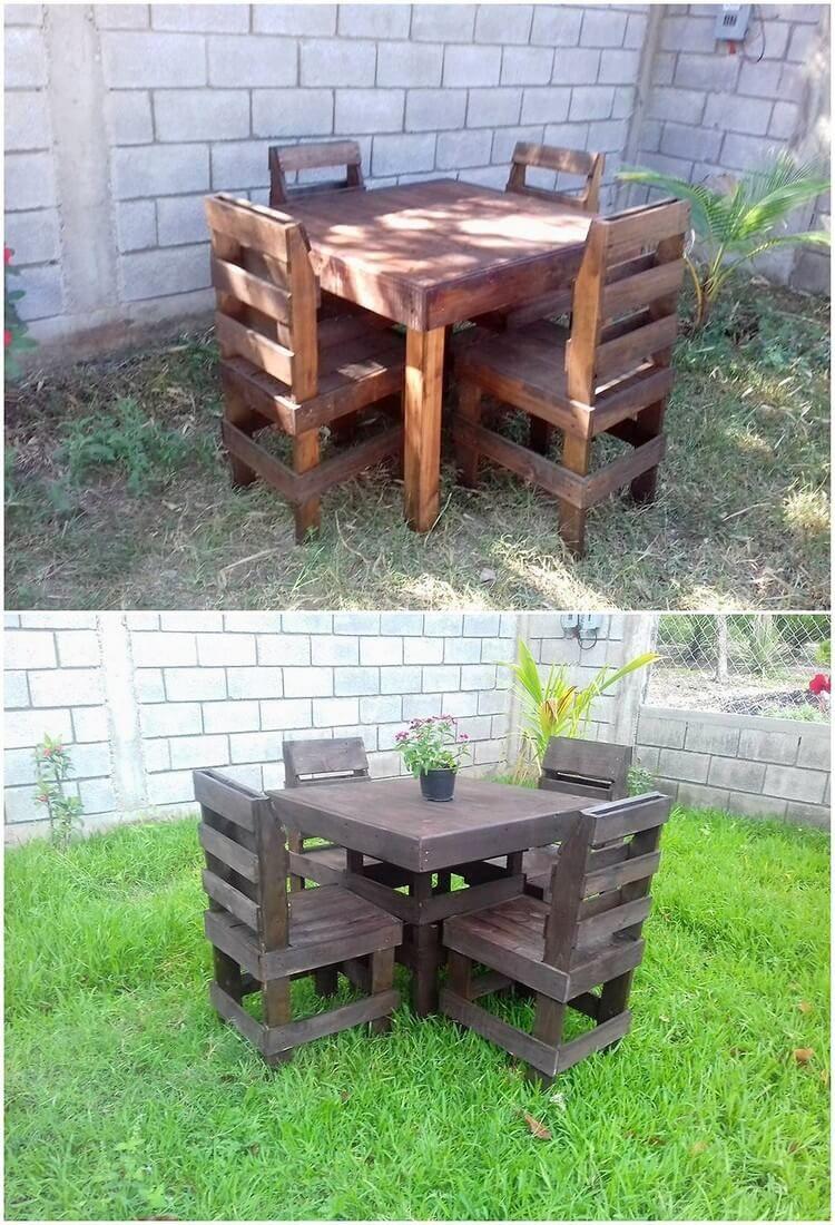 Wonderful Pallet Garden Furniture Ideas Pallet Furniture
