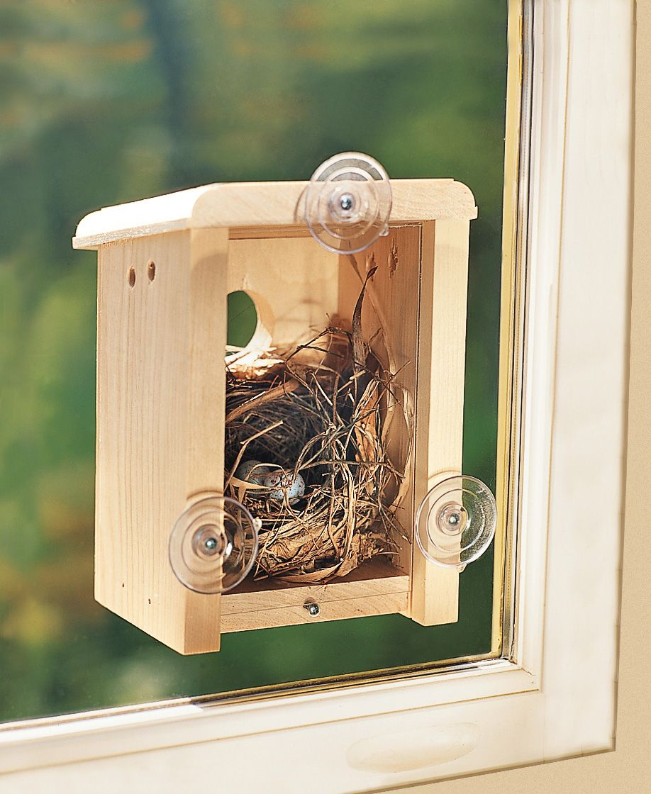 Other Bird Supplies Three Birdhouse Bird Nest Breeding Box Wildlife World