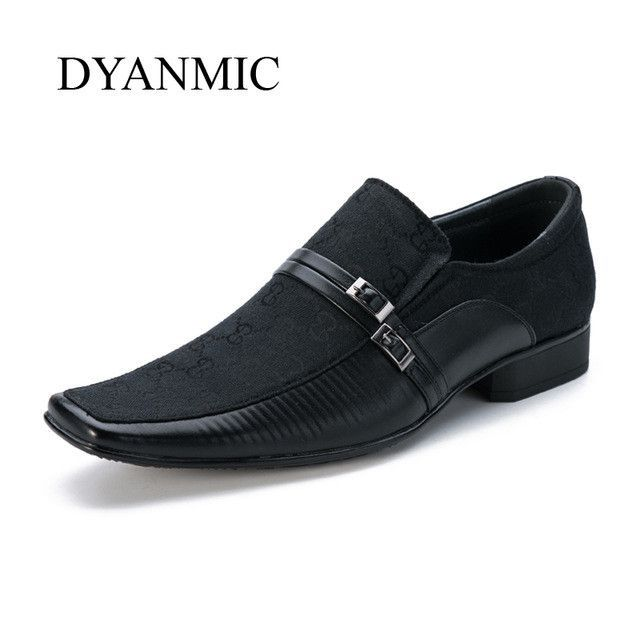 Dyanmic Mens Dress Shoes 2017 New Italian Fashion Vintage Mans Black Brown Gray Smart Party Wedding Formal Faux Leather Products Pinterest