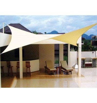 Easyshade Tenda A Vela Impermeabile 4 Lembi Quadrata