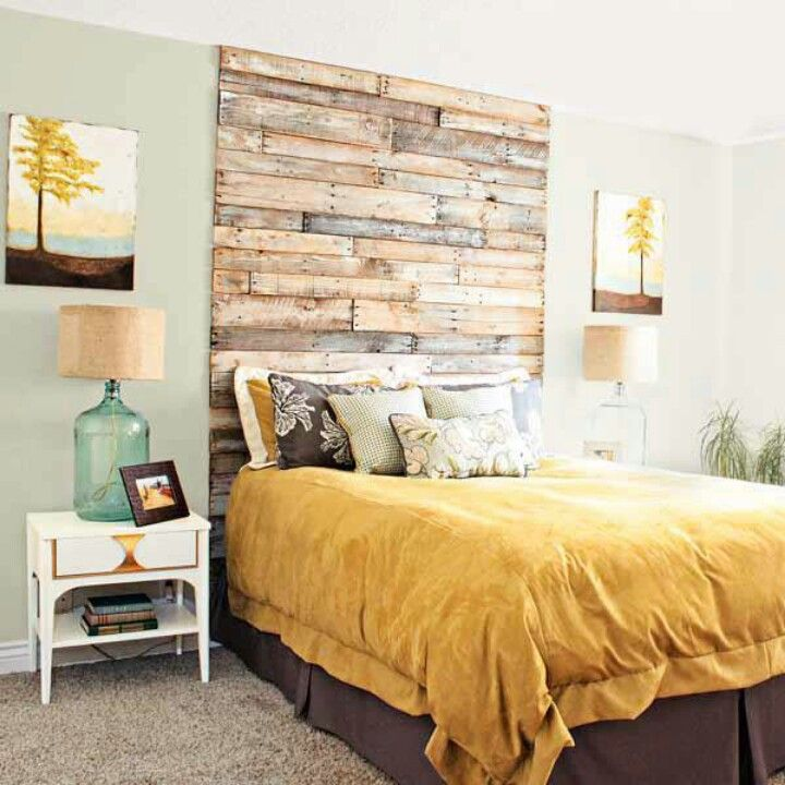 Cool Head Board Selbstgemachte Kopfteile, Holzwand, Wohnen, Wohnideen  Schlafzimmer, Haus Bauen,