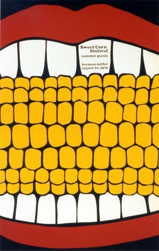 Les affiches des picnics d'Herman Miller - La boite verte