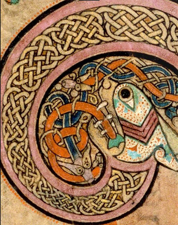 Knotwork Book Of Kells Luna Guitars Celtic Series Pinterest