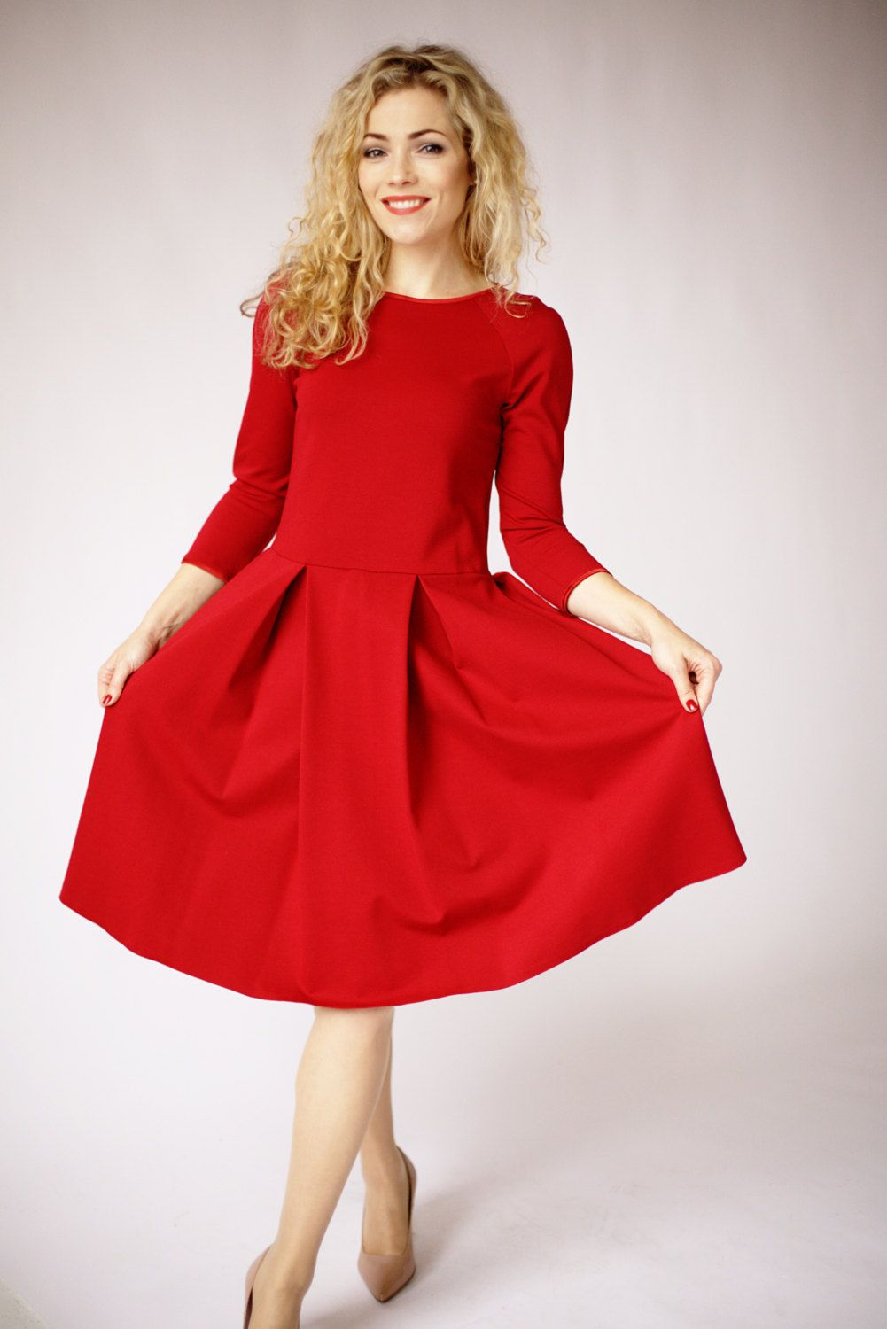Red formal winter dresses advise to wear for everyday in 2019