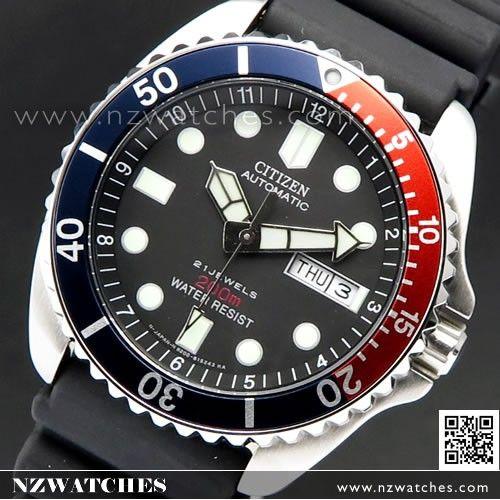 d74073d32 Citizen Promaster Automatic 200M Scuba Divers Watch NY2300-09G ...
