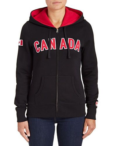 Olympic Canadian Olympic Team Collection Womens Canada Full Zip Hoodie Hudson S Bay Full Zip Hoodie Hoodies Athletic Jacket