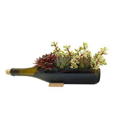 Another great find on #zulily! Chardonnay Wine Bottle Garden Set by Bottle Gardens #zulilyfinds