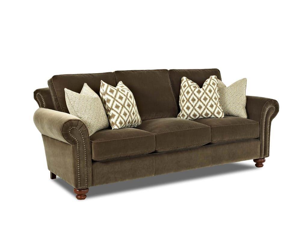 Comfort Design Living Room Castleton Sofa S   Whitley Furniture Galleries    Zebulon, NC