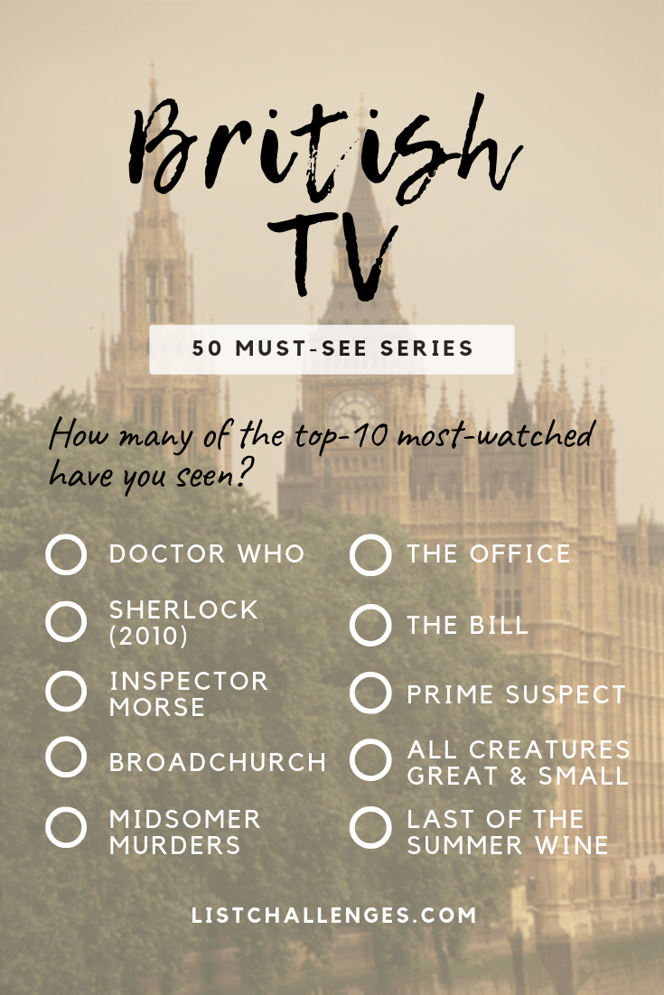 50 Must See British Tv Series Tv Series To Watch British Tv Series British Tv