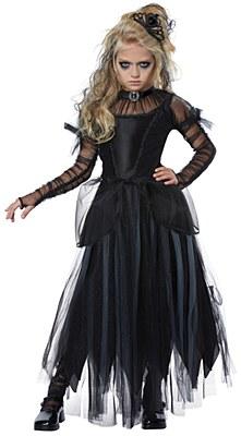 Costumi Halloween Idee.Dark Princess Child Costume Vestiti Carnevale Vampiro