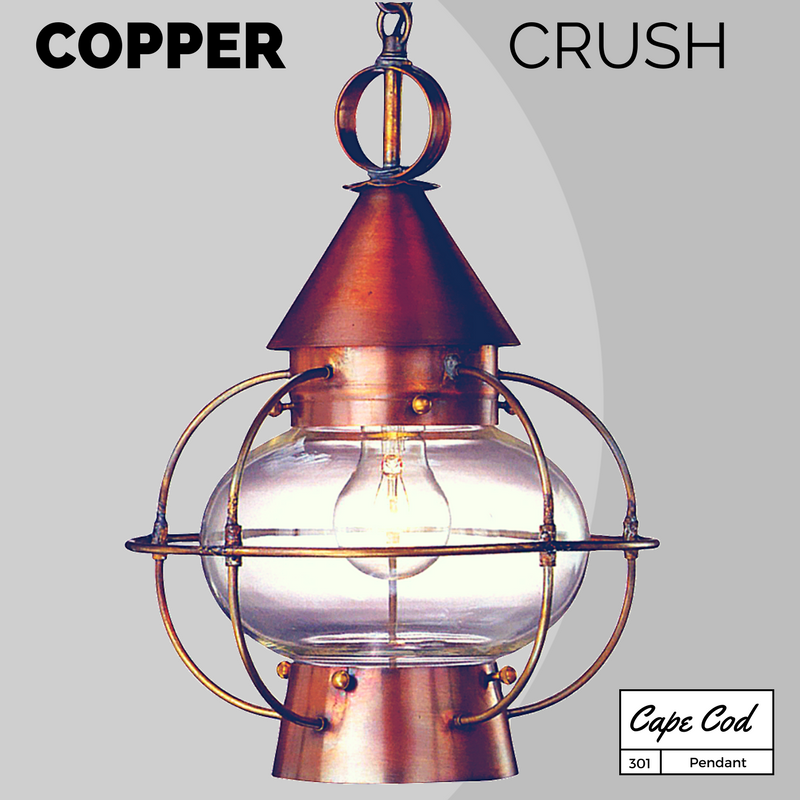Cape Cod Onion Pendant Hanging Lantern