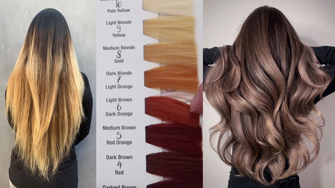 الوان صبغات الشعر Hair Color Color Correction Hair Hair Color Formulas