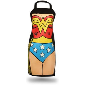 Isn't mom as super as Wonder Woman? We love this apron.